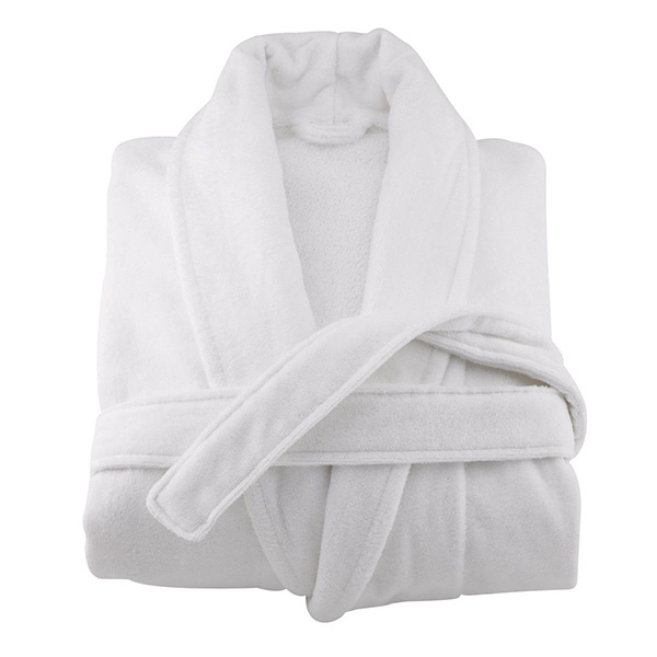 велюровый халат с шалькой для гостиниц